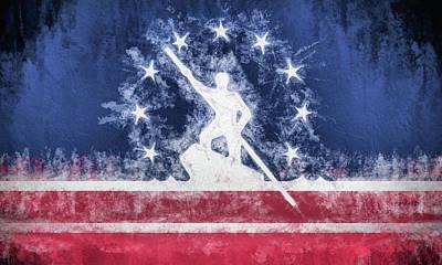 Digital Art - Richmond Virginia City Flag by JC Findley