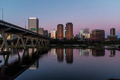 Photograph - Richmond's Purple Reflection by Doug Ash