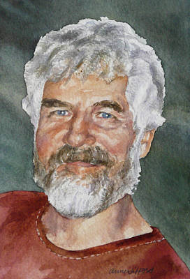 Painting - Rick by Anne Gifford