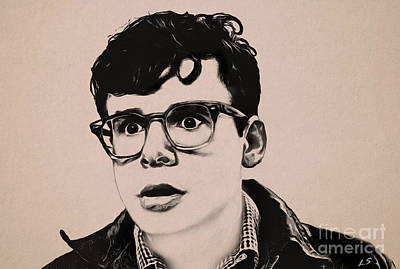 Drawing - Rick Moranis by Sergey Lukashin