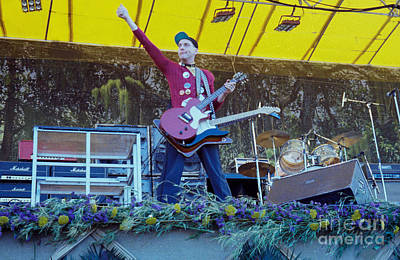 Photograph - Rick Nielsen Of Cheap Trick - Day On The Green 9-2-78 by Daniel Larsen