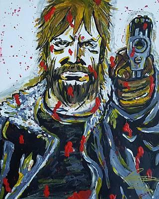 Rick Print by Oscar Rodriguez III