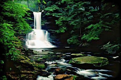 Photograph - Ricketts Glen Falls 009 by Scott McAllister