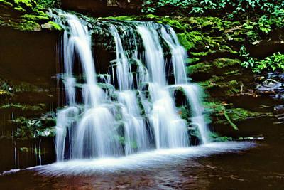 Photograph - Ricketts Glen Falls 010 by Scott McAllister