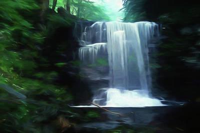 Photograph - Ricketts Glen Falls 020 by Scott McAllister