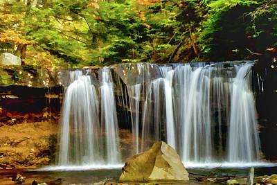 Photograph - Ricketts Glen Falls 1051 by Scott McAllister