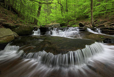 Ricketts Glen State Park Pennsylvania Art Print by Mark VanDyke