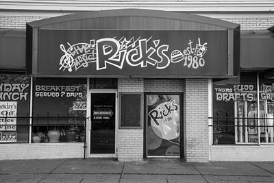 Michigan State Photograph - Rick's Cafe East Lansing  by John McGraw