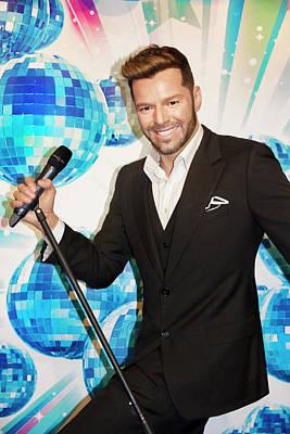 Photograph - Ricky Martin by Miroslava Jurcik
