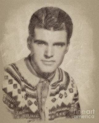 Music Royalty-Free and Rights-Managed Images - Ricky Nelson, Music Legend by John Springfield by Esoterica Art Agency