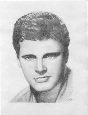 Drawing - Ricky by Rick Fitzsimons