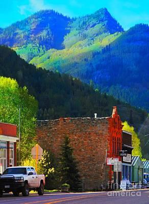 Digital Art - Rico Colorado by Annie Gibbons