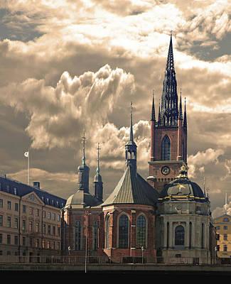 Photograph - Riddarholm Church - Stockholm by Jeff Burgess