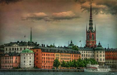 Photograph - Riddarholmen by Hanny Heim