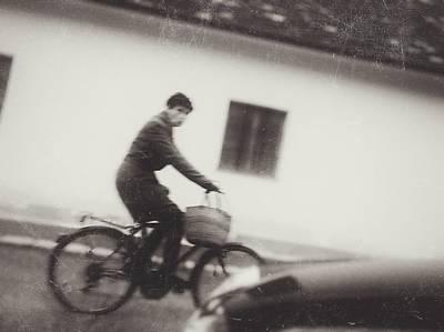 Photograph - Ride A Bike For Shopping by Siegfried Ferlin