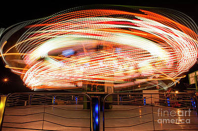 Photograph - Ride Ar Fair Abstract by Jim Corwin