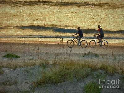 Photograph - Ride At Dawn by Dave Bosse