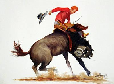 Ride Em Cowboy Original by Joe Prater