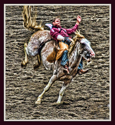 Photograph - Ride Em Cowboy by Ron Roberts
