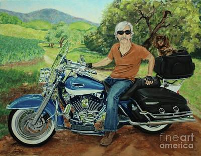 Painting - Ride In The Birksire's by Janet Poirier