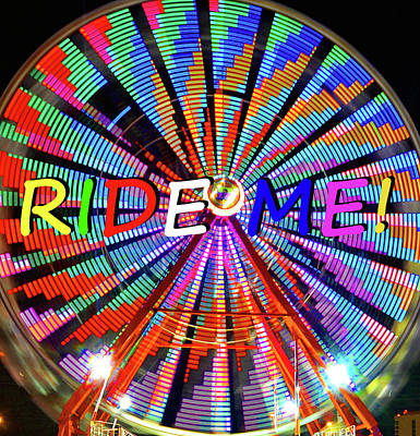 Photograph - Ride Me by David Lee Thompson