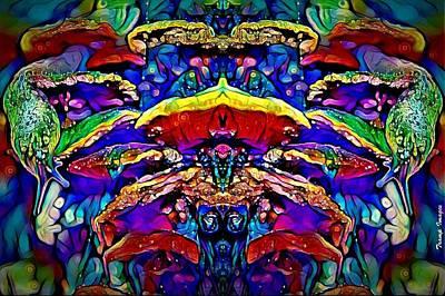 Digital Art - Ride Of The Slug Fairy by Wesley Nesbitt