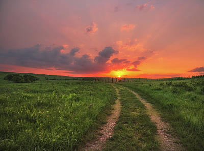 Photograph - Ride Off Into The Sunset by Darren White