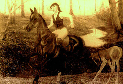Painting - Ride On Horse by Henryk Gorecki