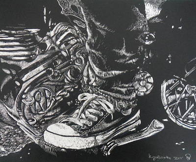Ride On Art Print