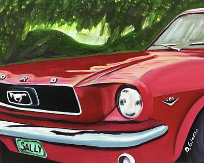 Painting - Ride Sally Ride by Dean Glorso