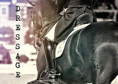 Ride The Rhythm Quote Art Print by JAMART Photography