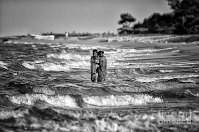 Photograph - Ride The Waves by Venura Herath