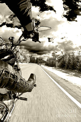 Sweden Photograph - Ride To Live by Micah May