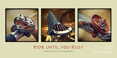 Photograph - Ride Until You Rust by Diane Enright