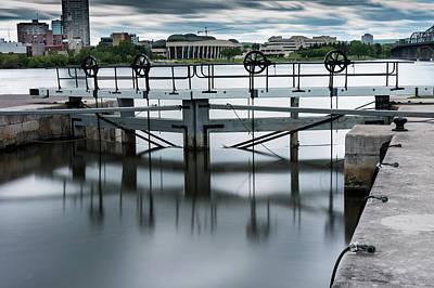Photograph - Rideau Canal Locks by M G Whittingham