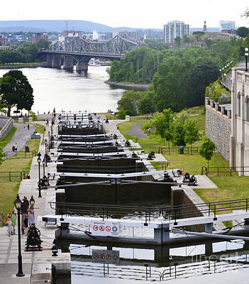 Photograph - Rideau Locks by Traci Cottingham