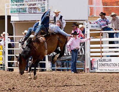 Photograph - Ridem' Cowboy by Joel Gilgoff