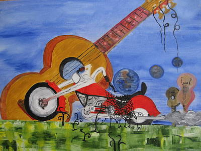 Rider Art Print by Antonio Raul