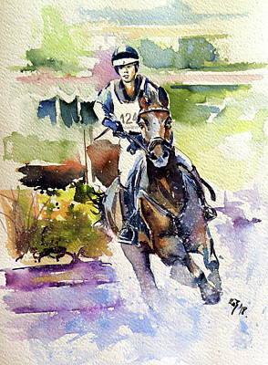 Painting - Rider II by Kovacs Anna Brigitta
