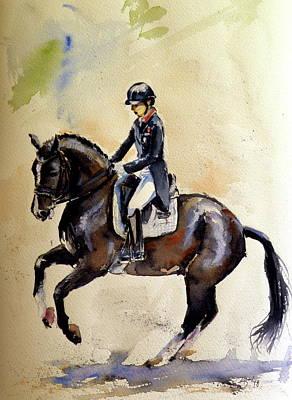 Painting - Rider IIi by Kovacs Anna Brigitta