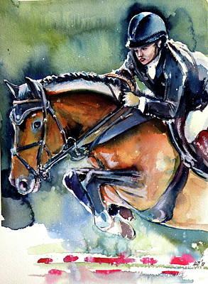 Painting - Rider Iv by Kovacs Anna Brigitta