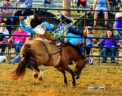 Photograph - Rider Off by Jeff Kurtz