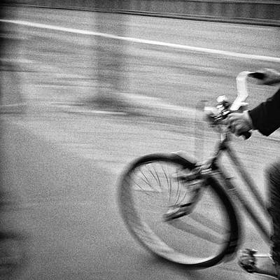 Bike Photograph - Rider  #bike #bicycle #riding by Rafa Rivas