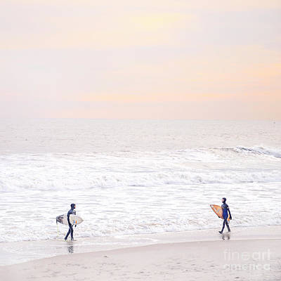 Pastel Sunset Photograph - Riders Of The Sea by Evelina Kremsdorf
