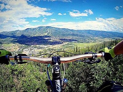Photograph - Rider's View by Matt Helm