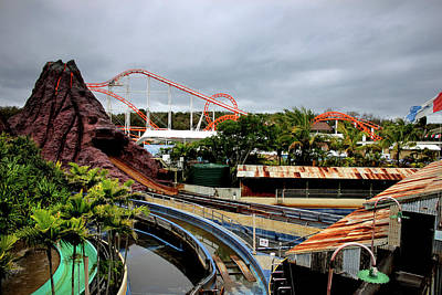 Photograph - Rides At Seaworld by Miroslava Jurcik