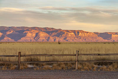 Photograph - Ridge Outside Alamogordo by Liza Eckardt