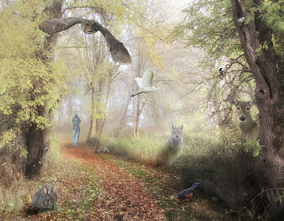 Photograph - Ridgefield National Wildlife Refuge Composite by Angie Vogel
