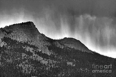 Photograph - Ridgeway Storm by Pete Hellmann