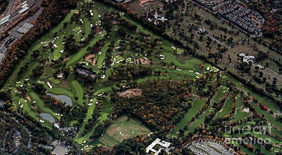 Ridgewood Country Club Aerial Photo Art Print